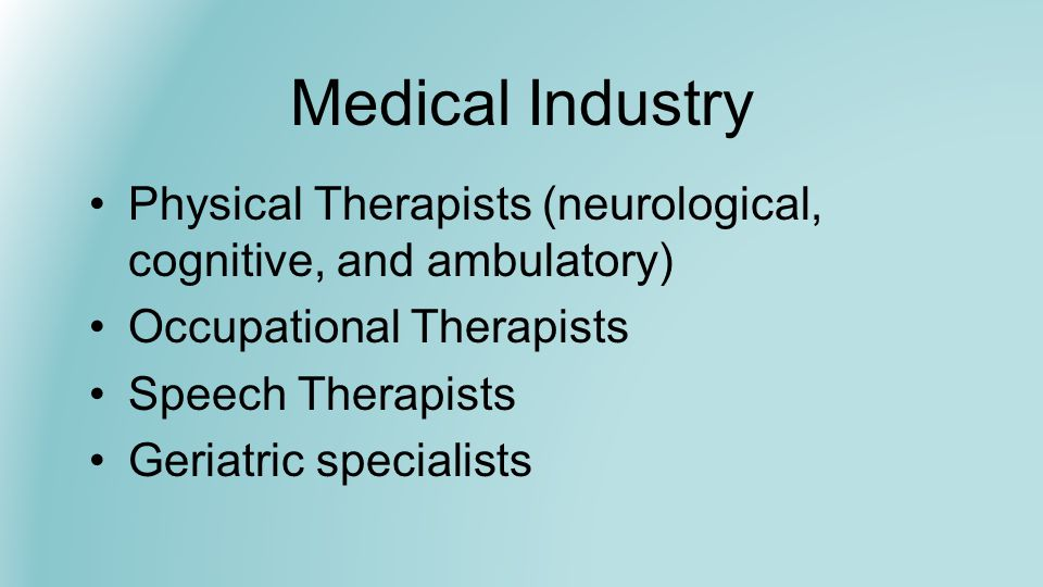 Medical Industry - Nursing According to the U.S.