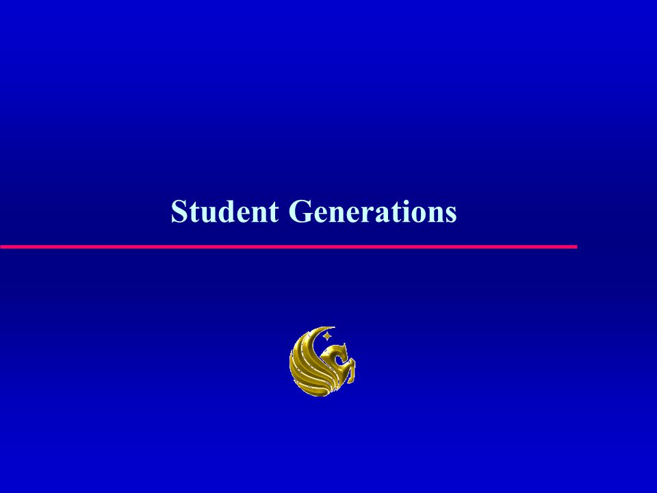 Student Generations