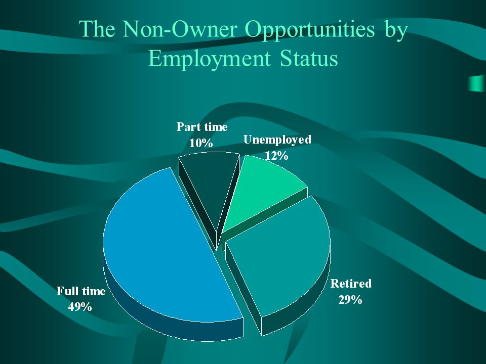 The Non-Owner Opportunities by Employment Status