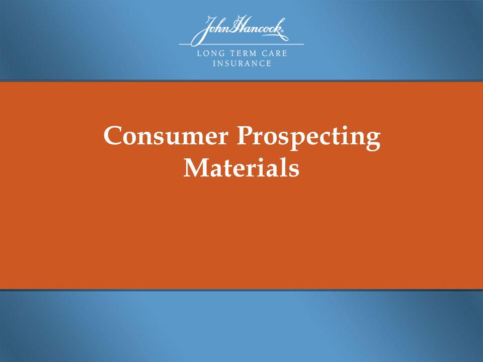 Consumer Prospecting Materials