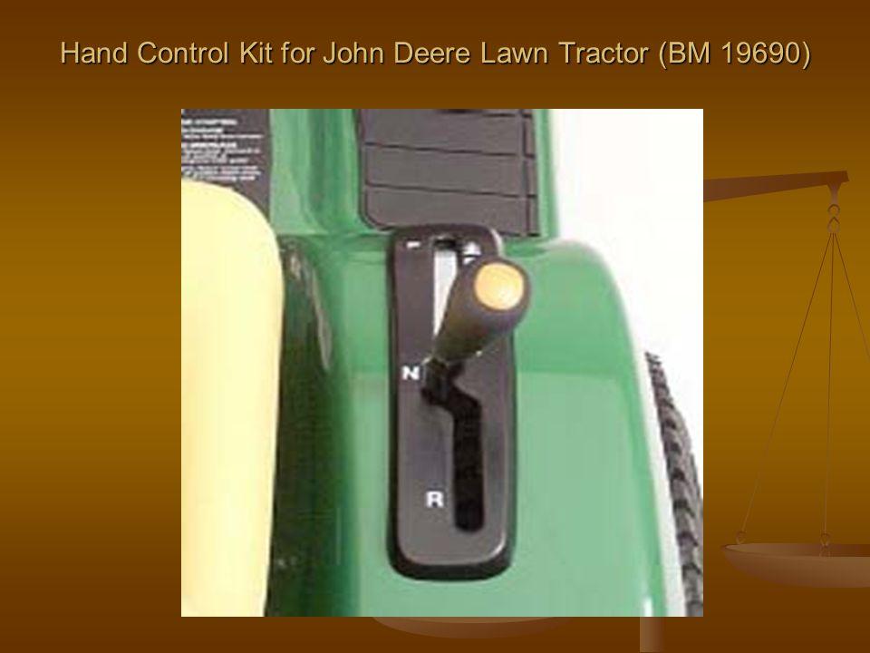 Hand Control Kit for John Deere Lawn Tractor (BM 19690)