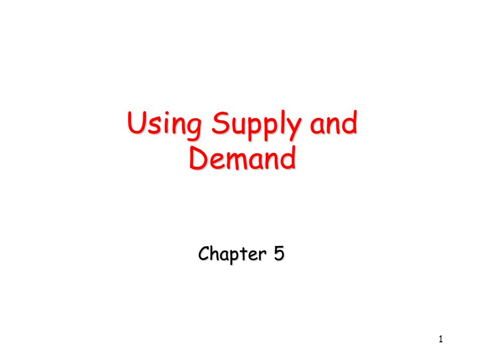 2 The Power of Supply and Demand Changes in supply and demand will change equilibrium price and quantity.