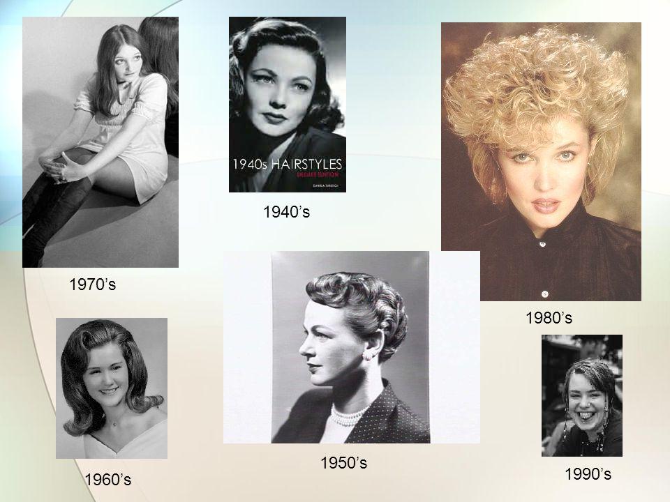 1970's 1940's 1960's 1950's 1980's 1990's