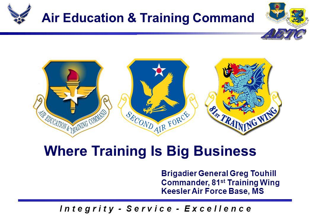 About AETC Gen Stephen R.