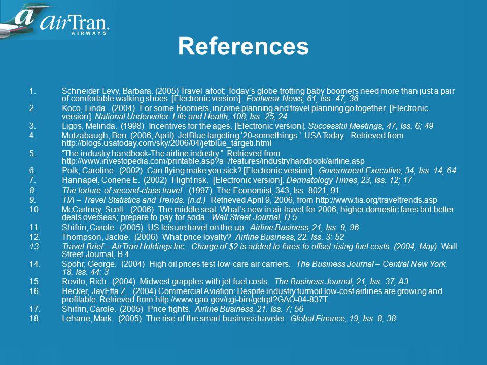 References 1.Schneider-Levy, Barbara.