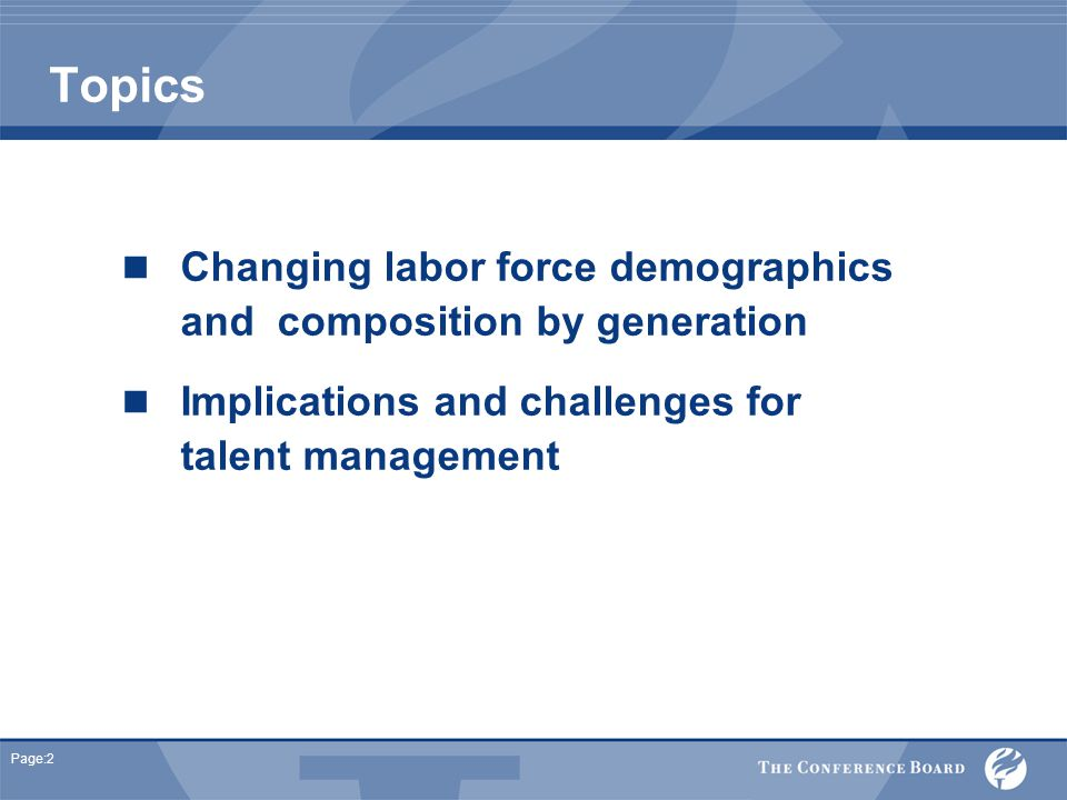 Page:33 Talent Management Challenges Building human resources capacity in the sector How do we motivate employees of different generations .