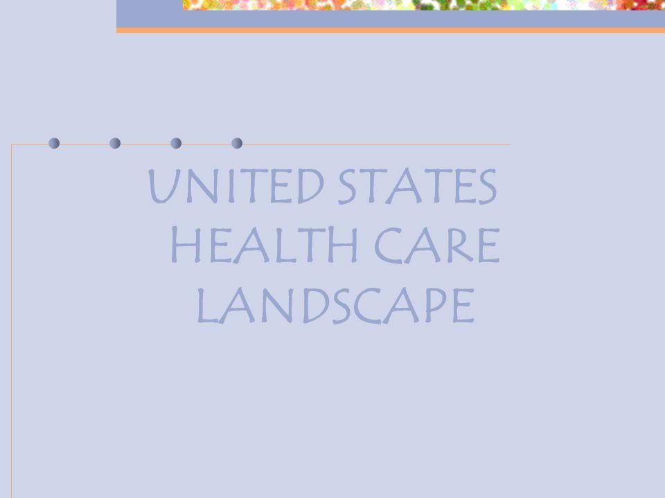 UNITED STATES HEALTH CARE LANDSCAPE