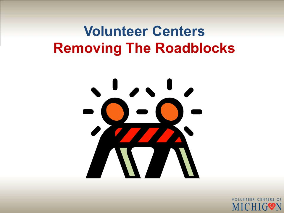 Volunteer Centers Refocusing/Reframing