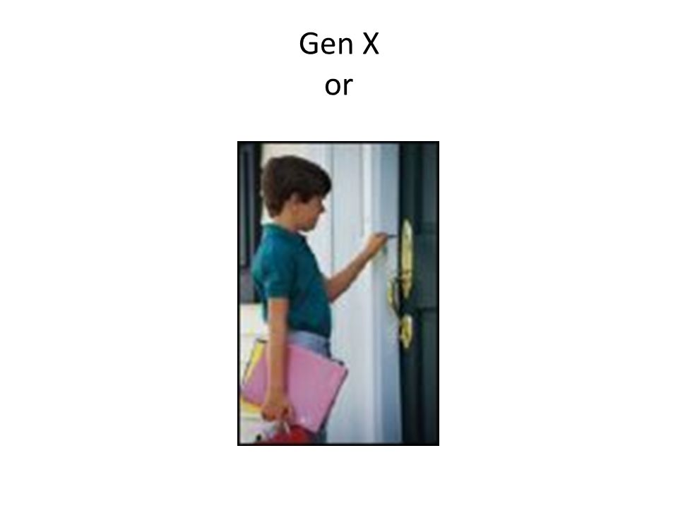 Gen X or