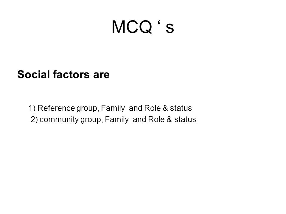 Role and Status A person have many roles in life such as group – family, clubs, organizations, etc.
