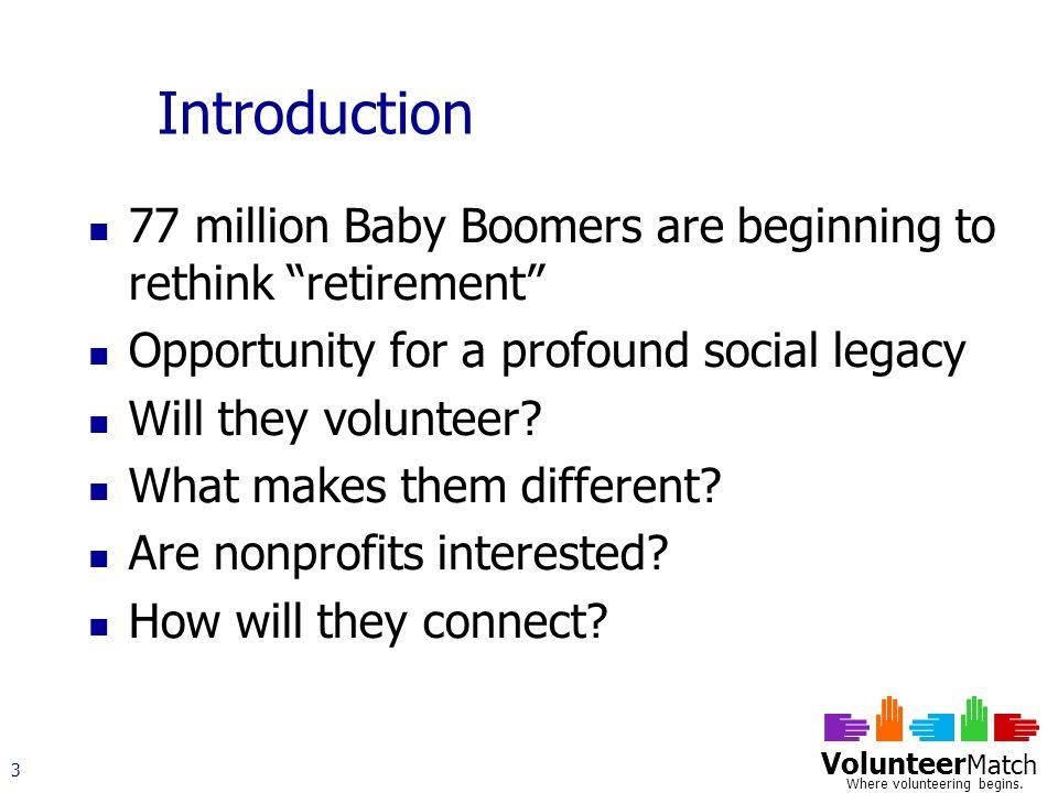 Volunteer Match Where volunteering begins.14 Are Older Volunteers Different.