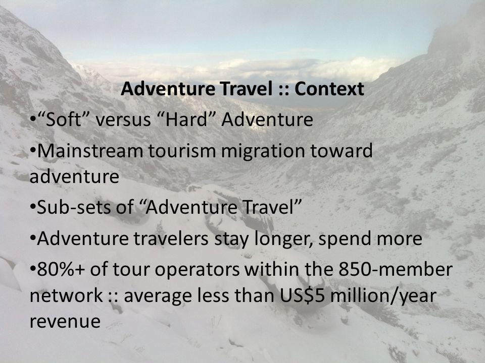 Chris Doyle Executive Director – Europe & Editor, AdventureTravelNews.com cdoyle@adventuretravel.biz 1.916.847.0261