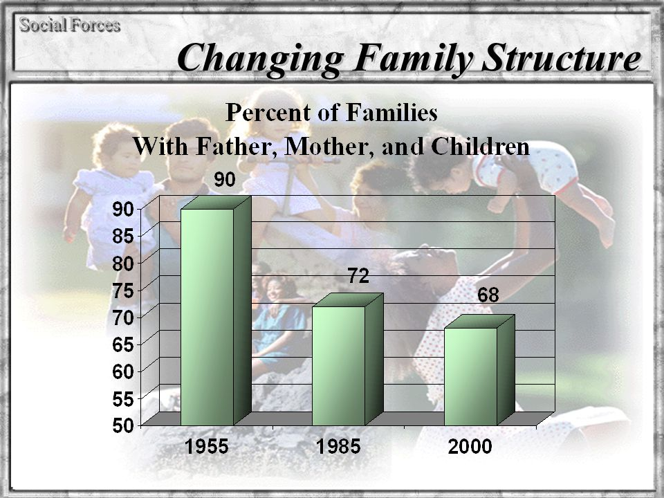 Social Forces Changing Family Structure