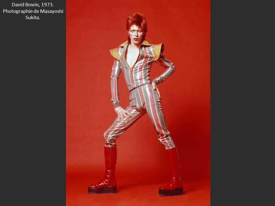 David Bowie, 1973. Photographie de Masayoshi Sukita.
