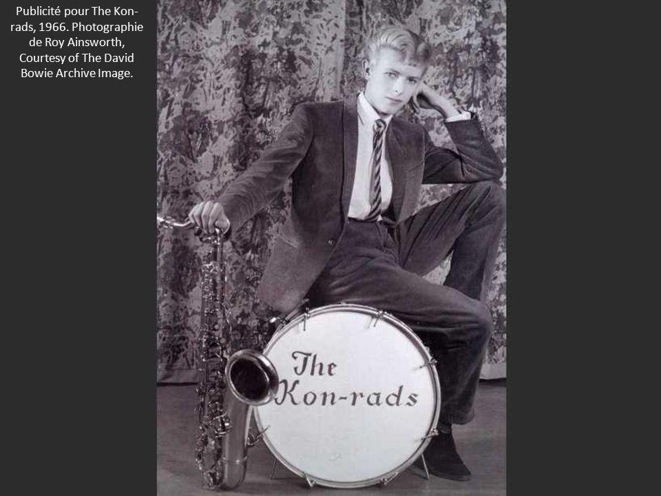 Publicité pour The Kon- rads, 1966.