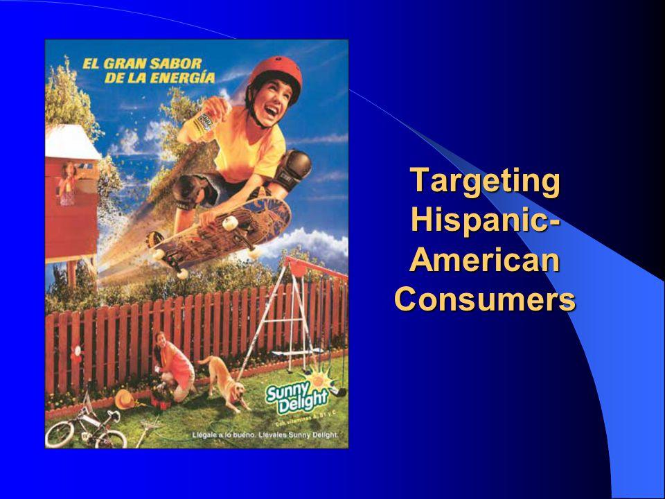 Targeting Hispanic- American Consumers