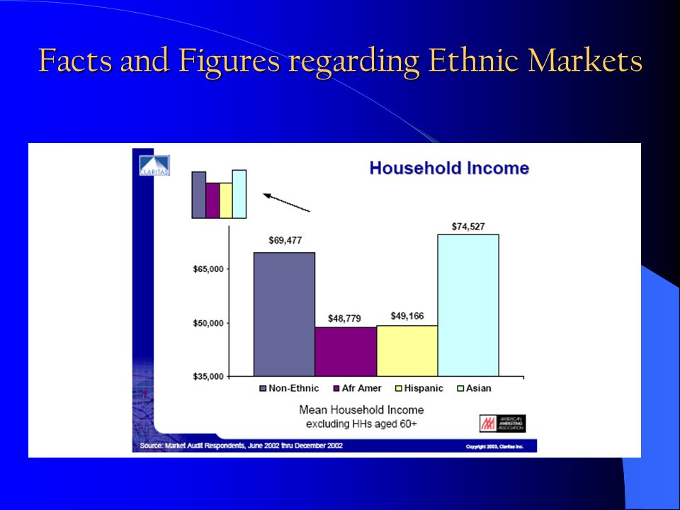 Facts and Figures regarding Ethnic Markets