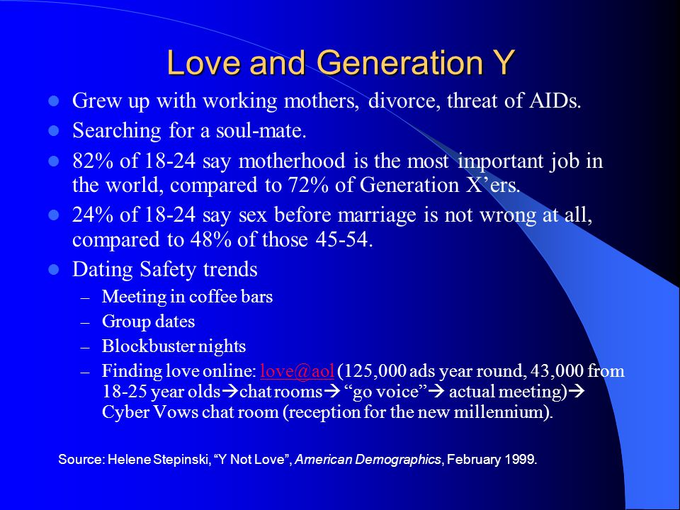 Grew up with working mothers, divorce, threat of AIDs.