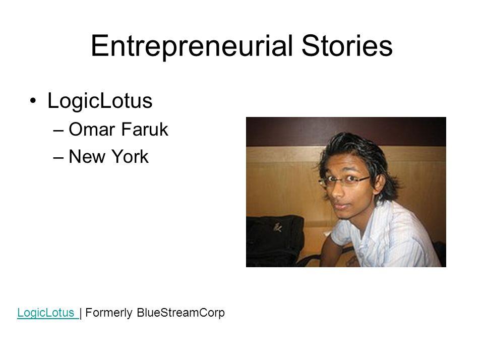 Entrepreneurial Stories Jx2 Productions –Andrew Jensen –Massachusetts
