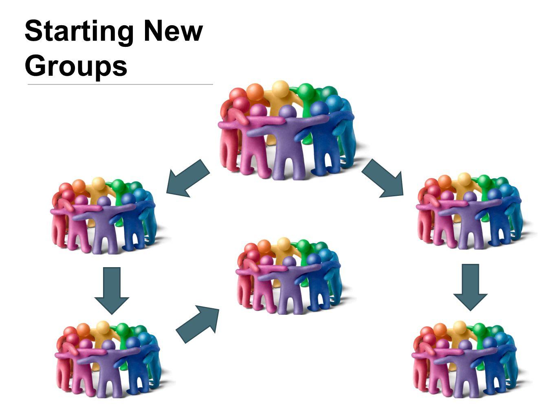 Starting New Groups