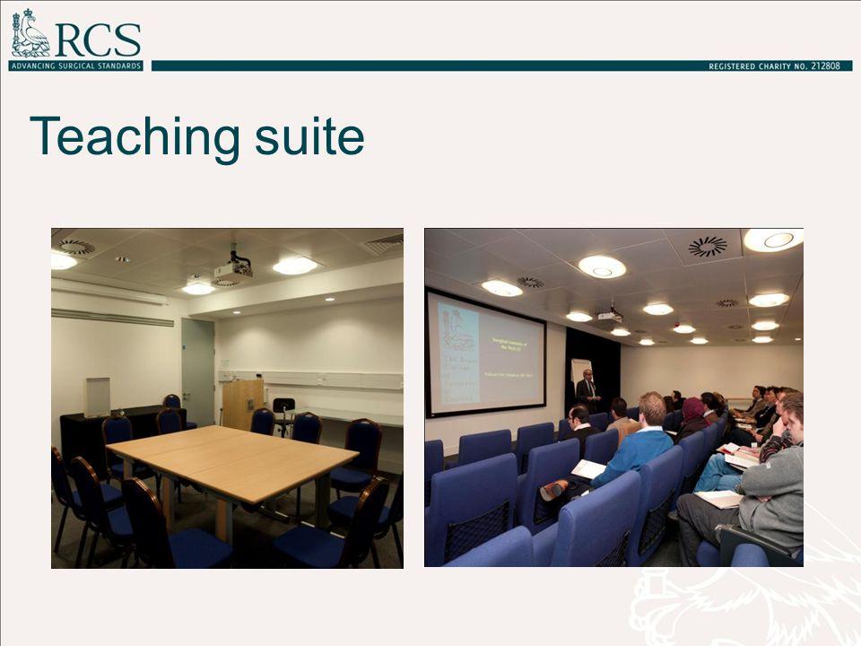 Teaching suite