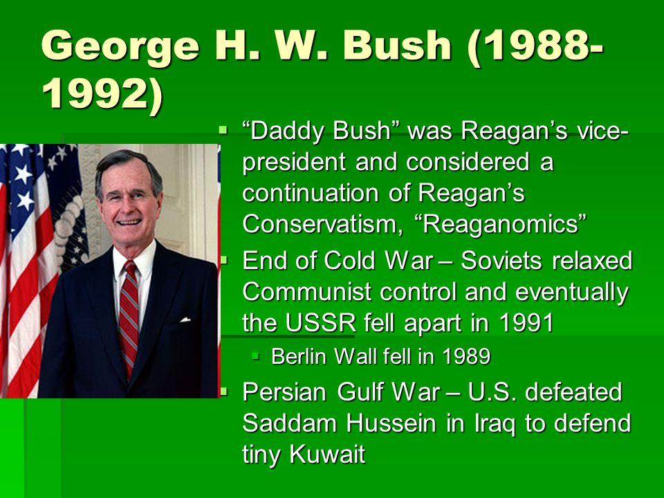 George H. W.