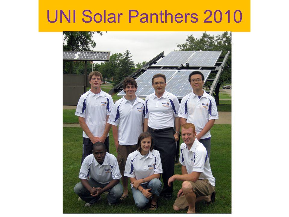 UNI Solar Panthers 2010