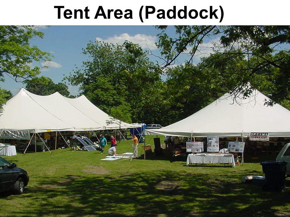 Tent scene Tent Area (Paddock)