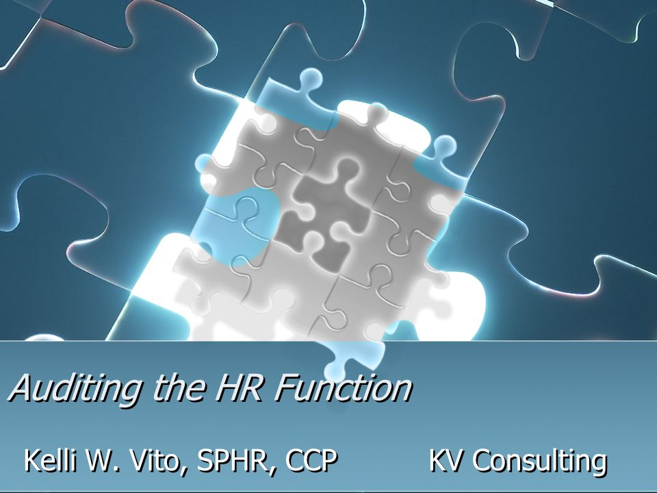 Why Conduct an HR Audit.