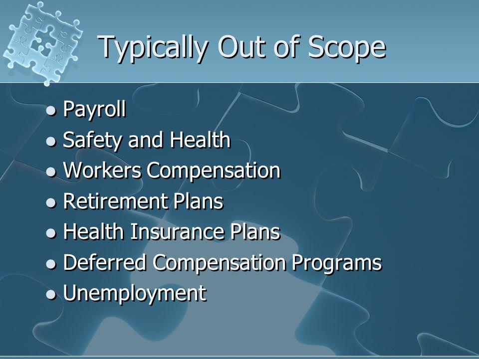 Key HR Risk Areas