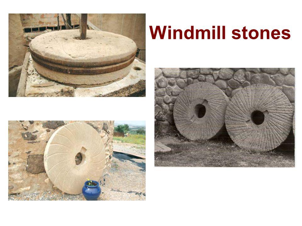 Windmill stones