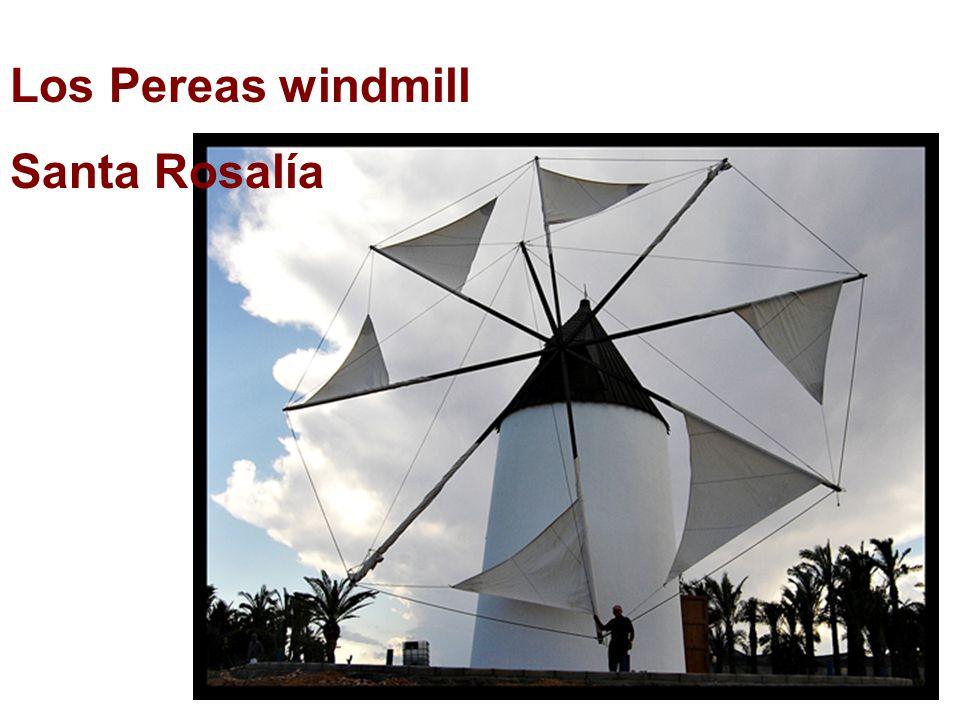 Los Pereas windmill Santa Rosalía