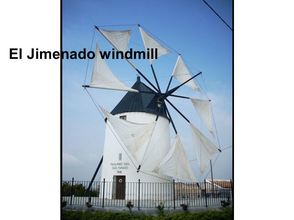 El Jimenado windmill