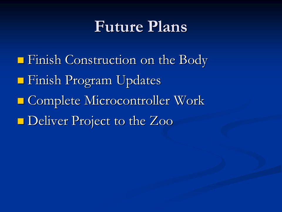 Zoo Kiosk Timeline
