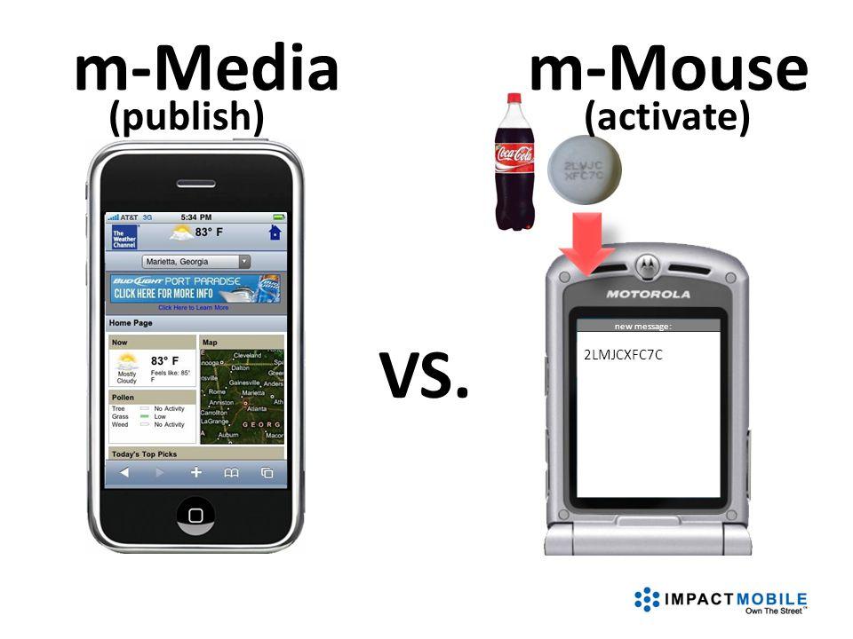 new message: 2LMJCXFC7C VS. m-Mediam-Mouse (activate)(publish)