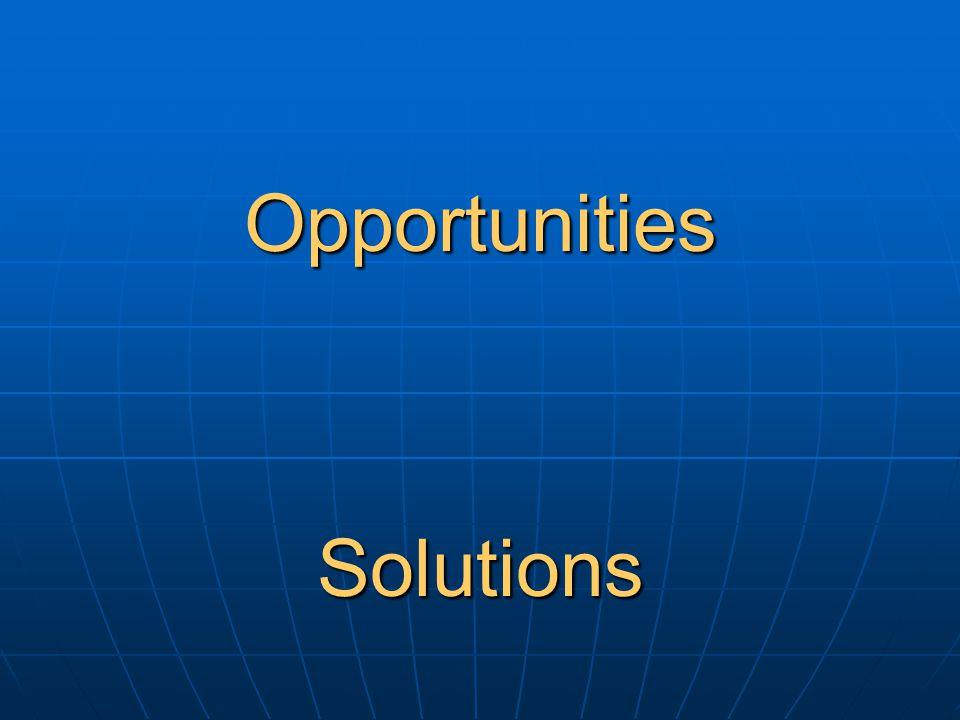 OpportunitiesSolutions