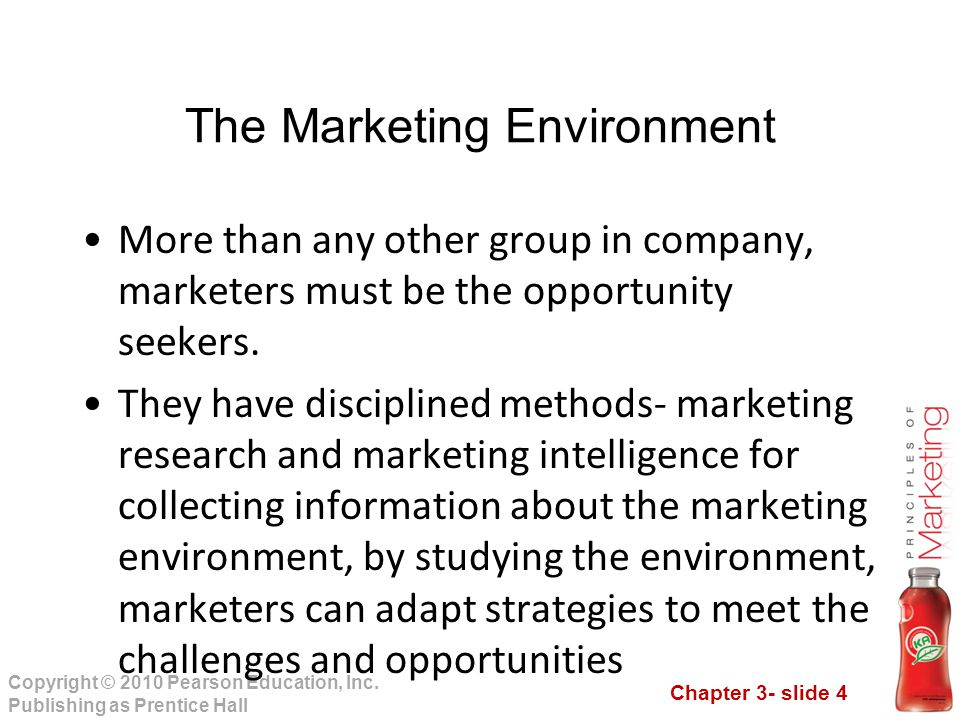 Chapter 3- slide 15 Copyright © 2010 Pearson Education, Inc.