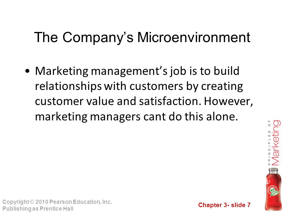 Chapter 3- slide 68 Copyright © 2010 Pearson Education, Inc.