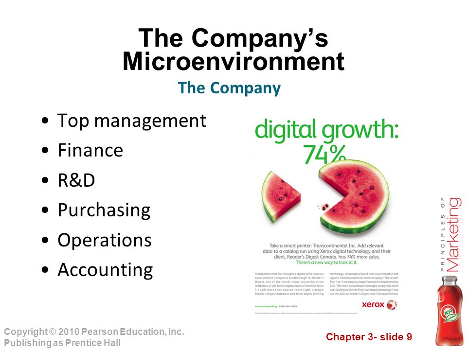 Chapter 3- slide 30 Copyright © 2010 Pearson Education, Inc.