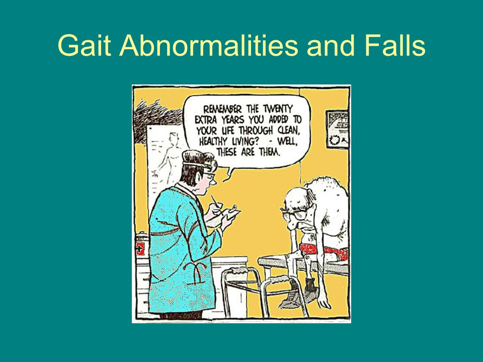 Gait Abnormalities and Falls