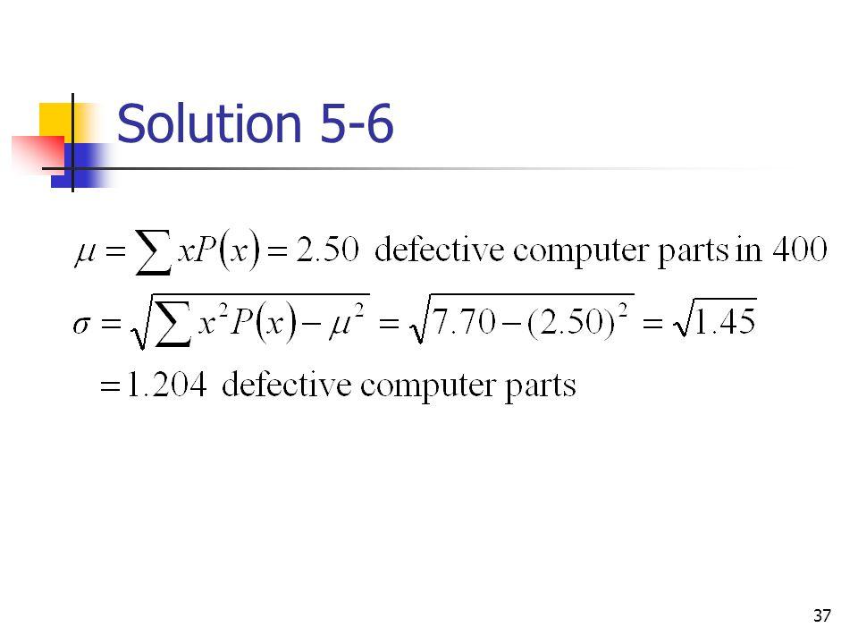 37 Solution 5-6