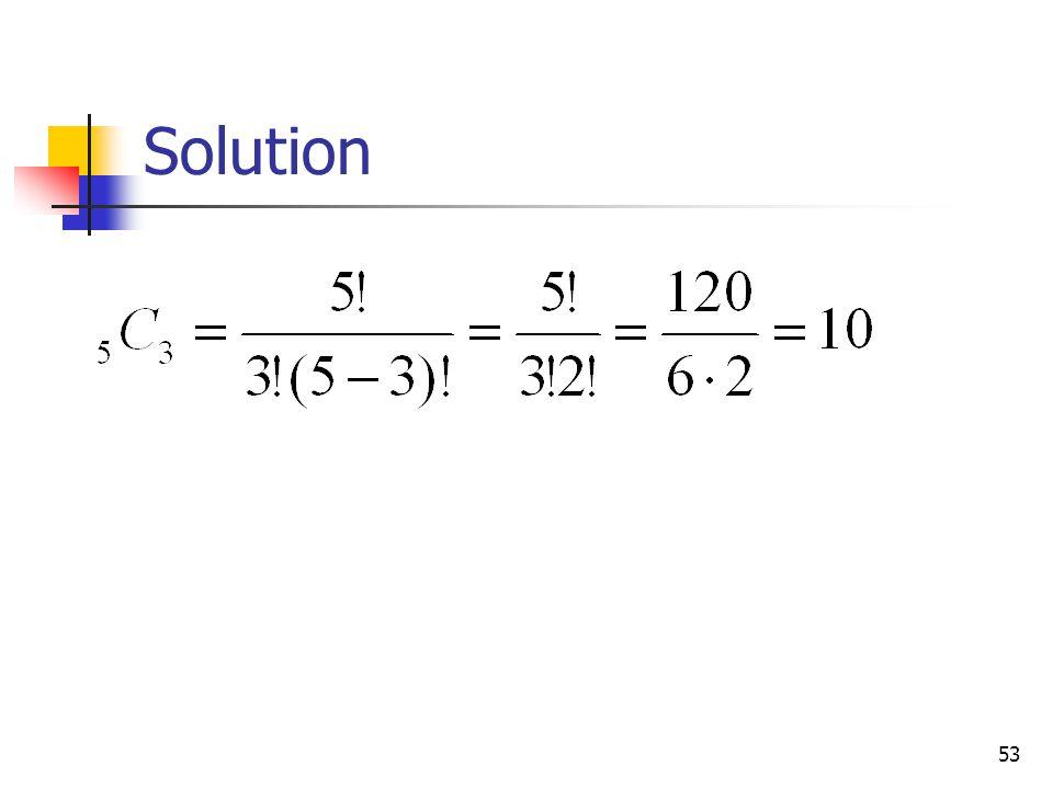 53 Solution