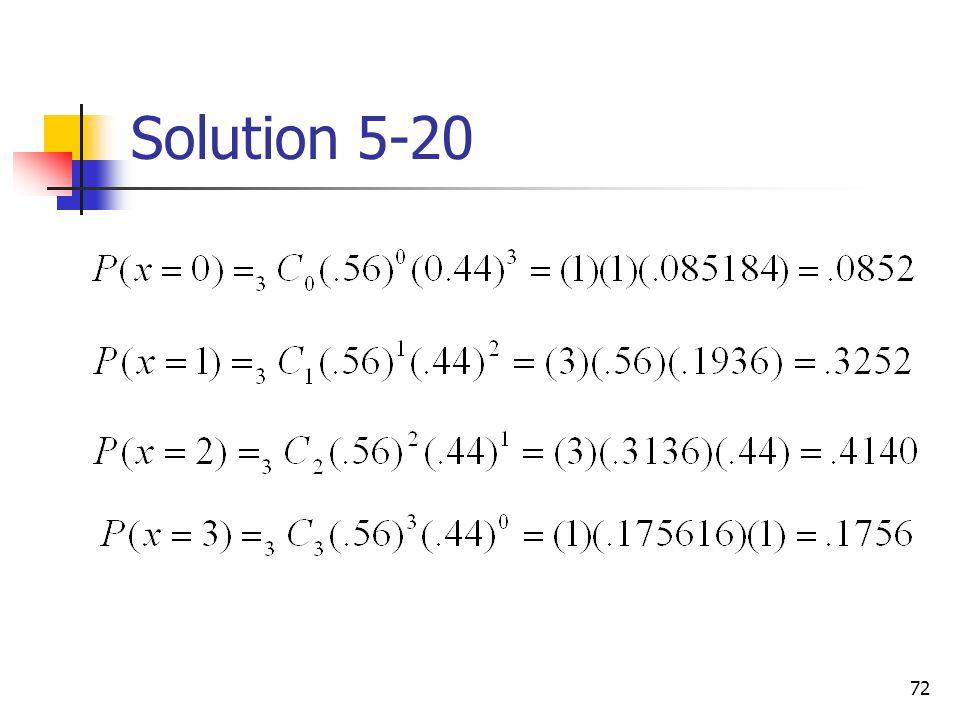 72 Solution 5-20