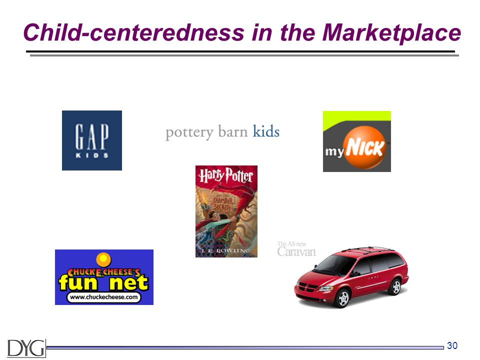 30 Child-centeredness in the Marketplace