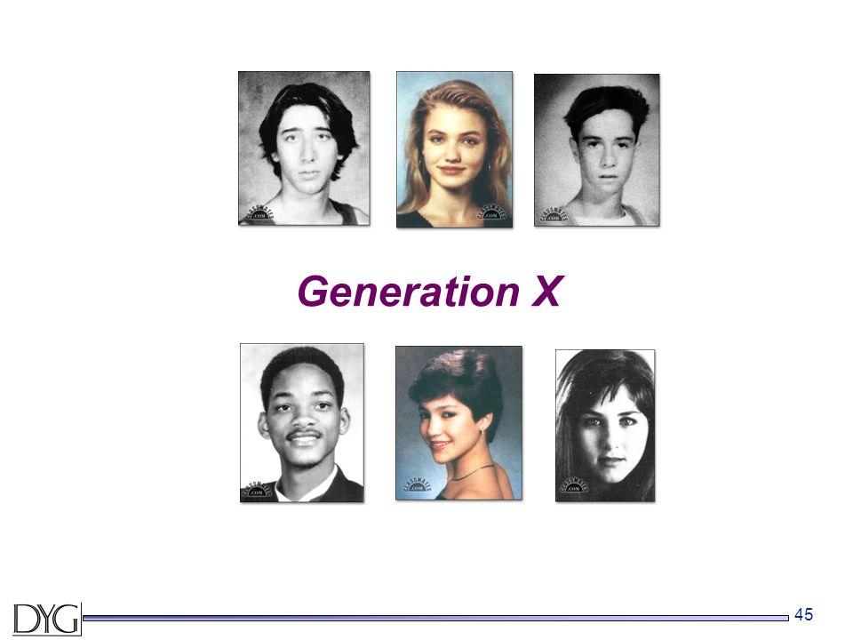 45 Generation X