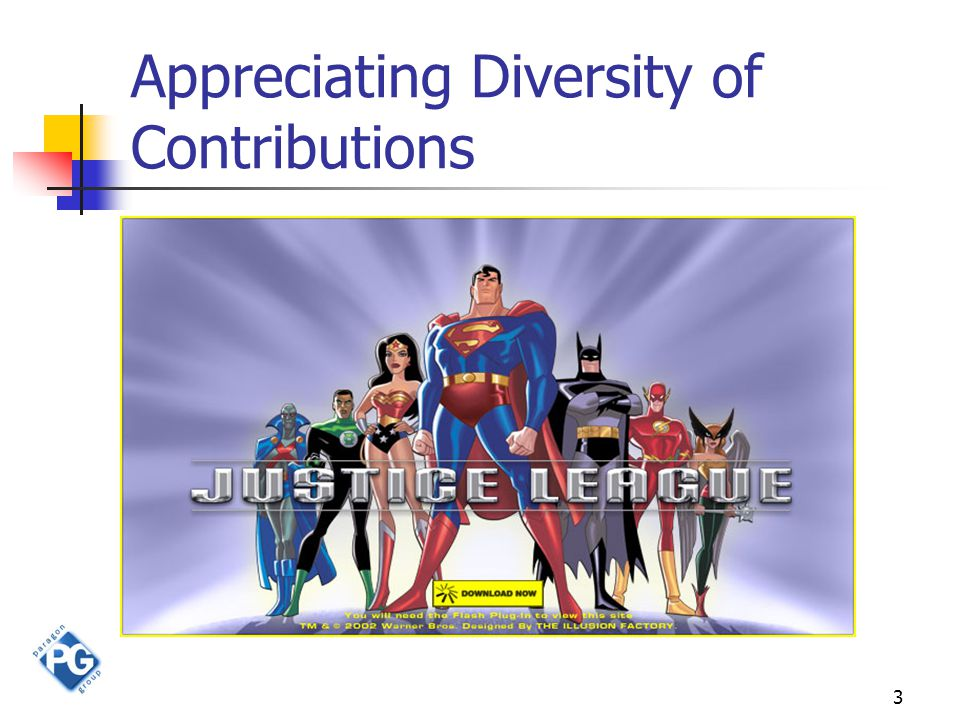 3 Appreciating Diversity of Contributions