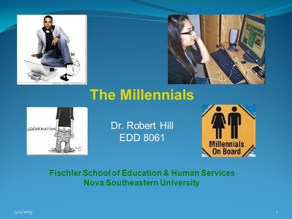 5/4/20151 The Millennials Dr.