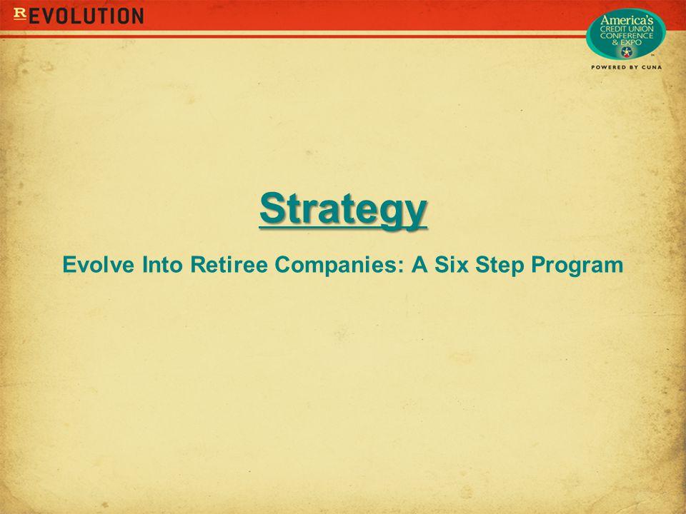 Strategy Strategy Evolve Into Retiree Companies: A Six Step Program