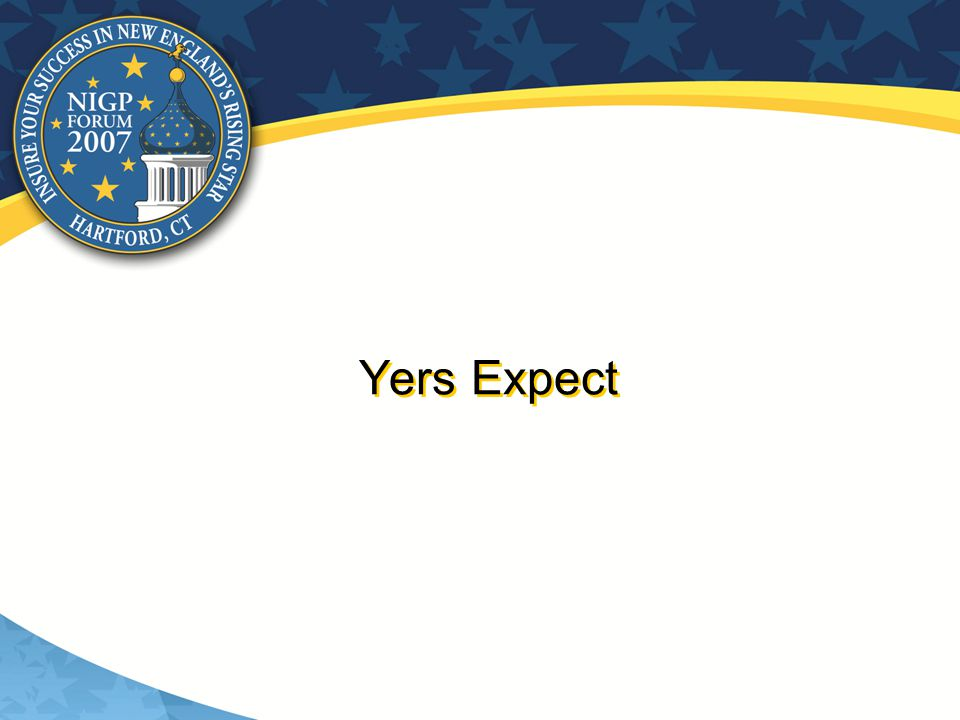 Yers Expect