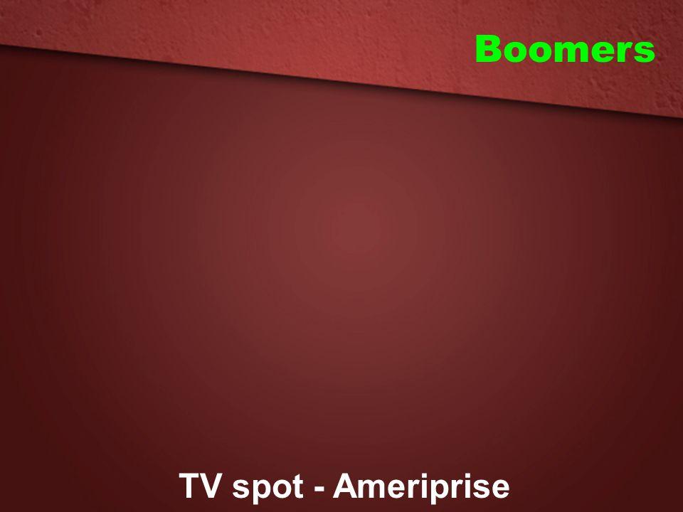 Boomers TV spot - Ameriprise